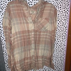 Express Flannel Top